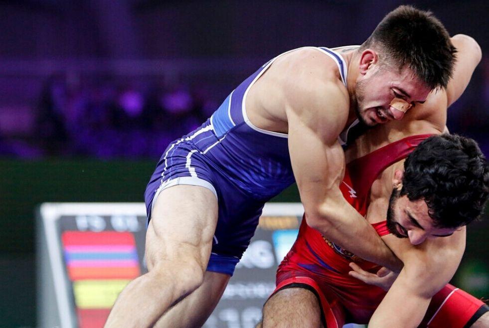 Lucha: el podio de Agustín Destribats, de lo mejor en el 2020