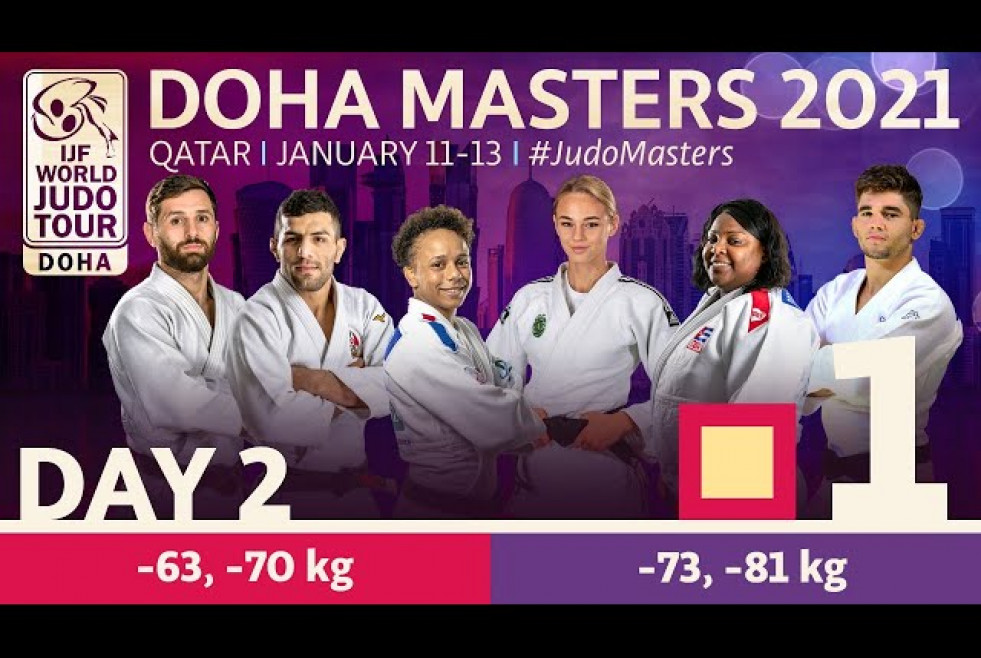 Day 2 - Tatami 1: Doha World Judo Masters 2021