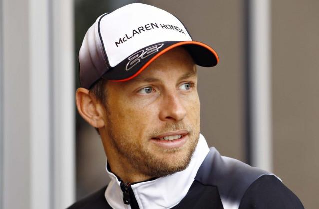 Jenson Button, piloto del equipo McLaren-Honda.
