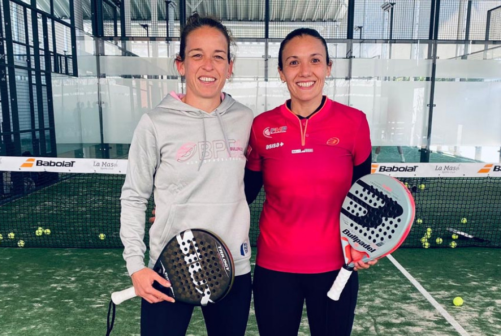 Patty llaguno y virginia riera nueva pareja world padel tour 2021 portada