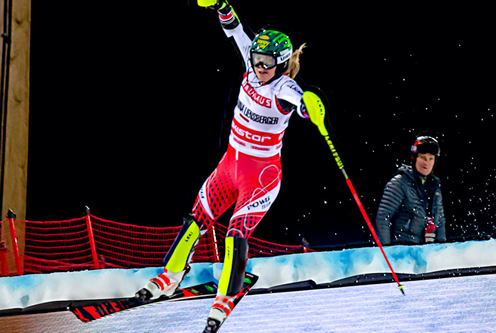 FIS Alpine Skiing World Cup in Stockholm 2019 Liensberger