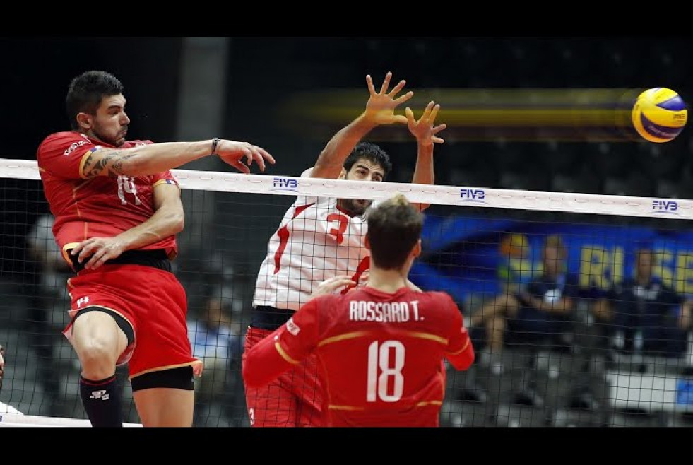 The Most Powerful Volleyball Spikes by Nicolas Le Goff
