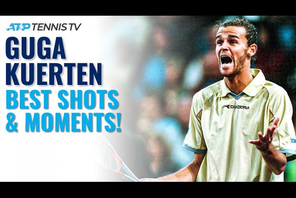 Guga Kuerten Best-Ever ATP Shots & Moments!