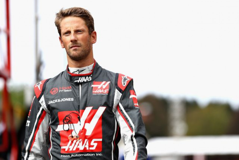 Romain grosjean of france and haas f1 walks in the pitlane news photo 1612642773