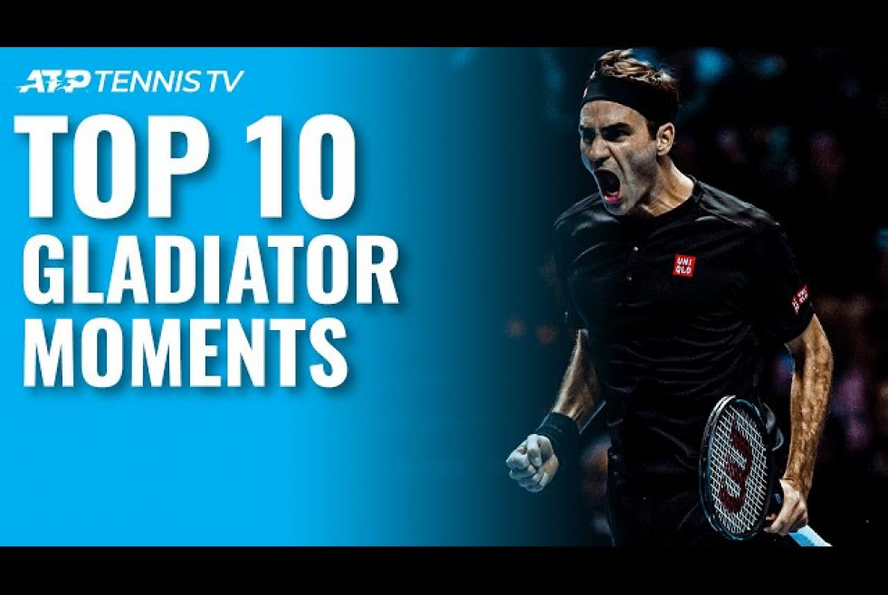 Top 10 ATP Tennis Gladiator Moments