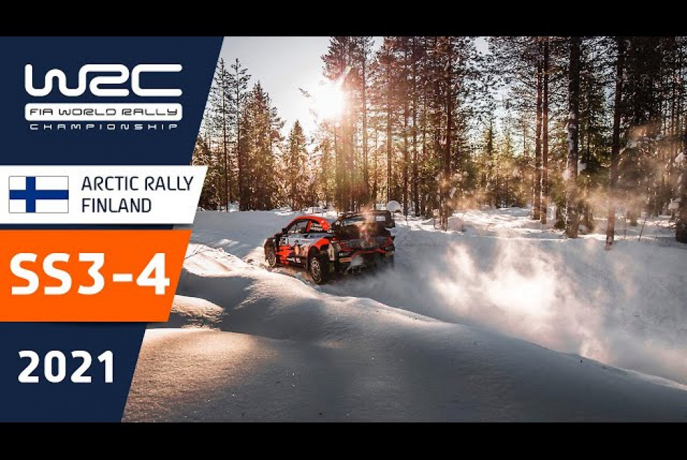 Highlights Stages 3-4 - WRC Arctic Rally Finland 2021 Powered by CapitalBox