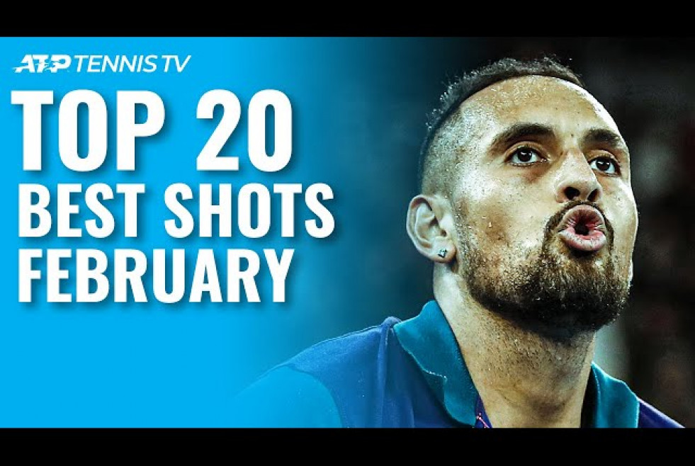 Top 20 Best ATP Tennis Shots & Rallies | February 2021