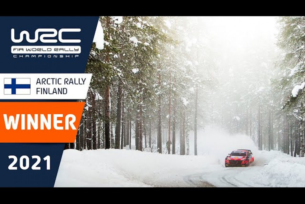 WINNER Special - WRC Arctic Rally Finland 2021 Powered by CapitalBox