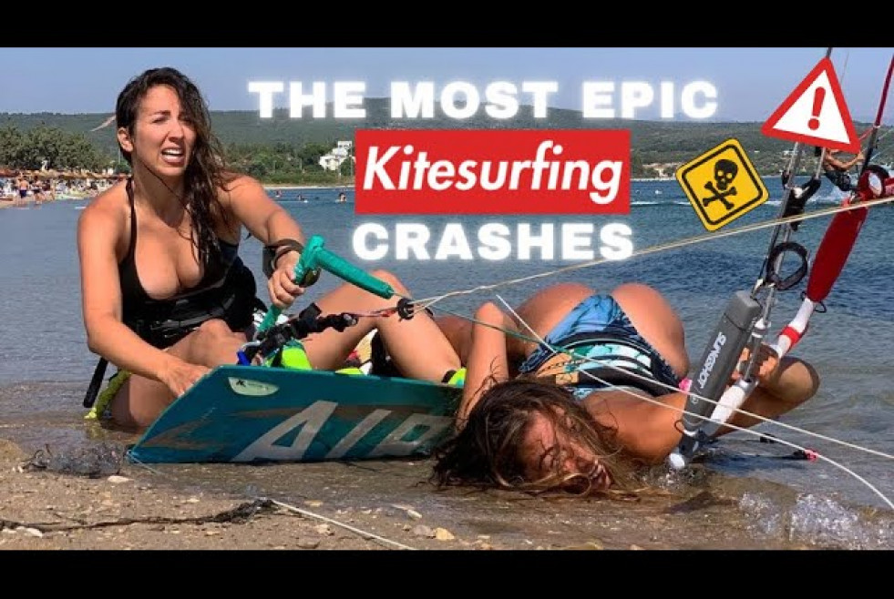 The most epic Kitesurfing Crashes 2021