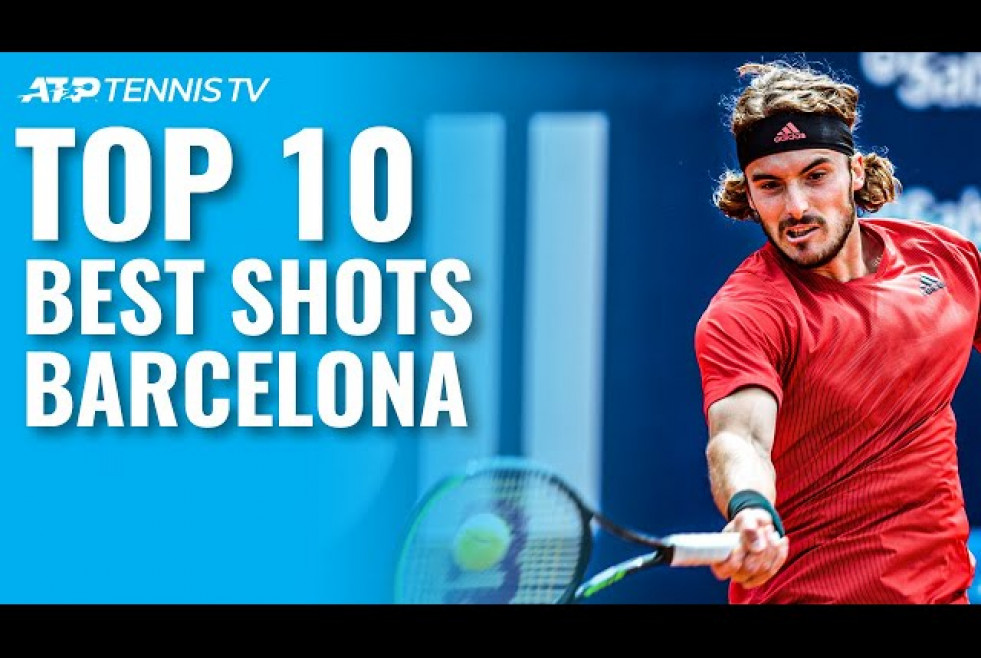Top 10 Best Tennis Shots & Rallies | Barcelona 2021