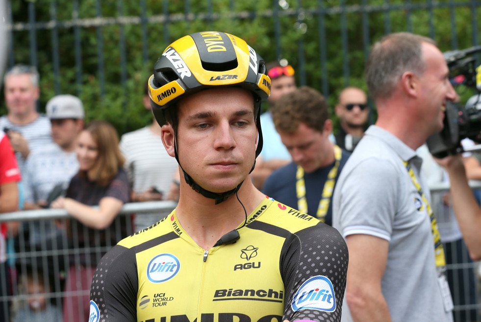 Archivo - Paris - 27-07-2019, cycling, Stage 21, etappe 21, Rambouillet - Paris, champs-elysees, Dylan Groenewegen fully concentrated on the final stage to the champs elysees
