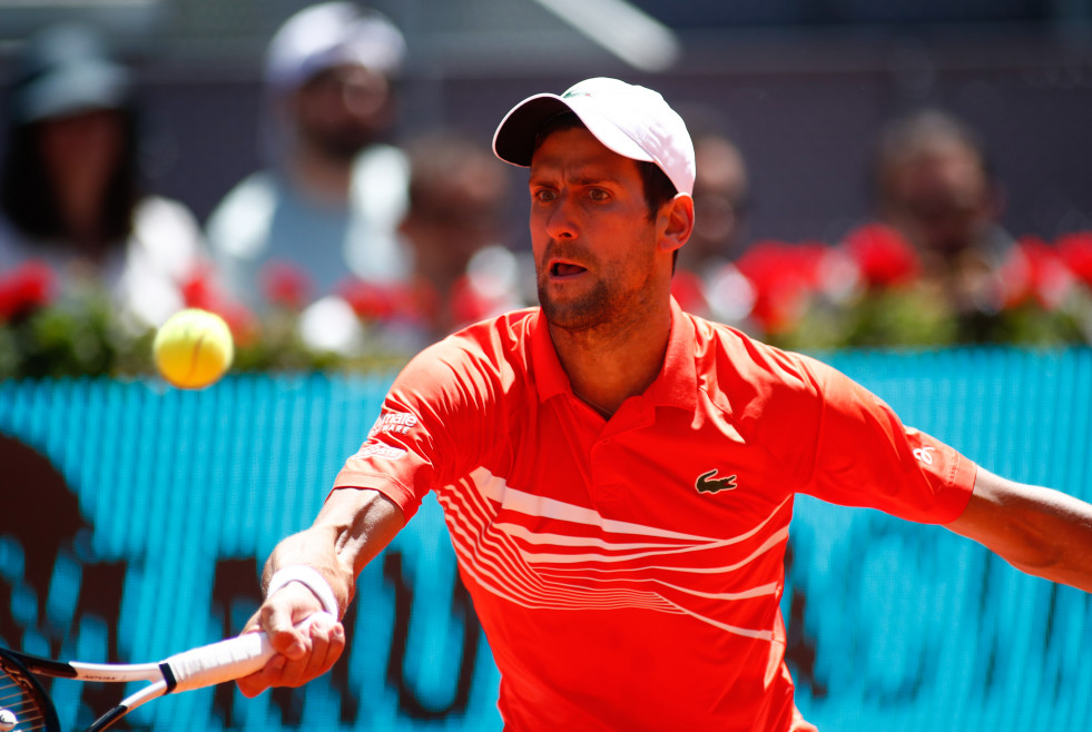 Archivo - Djokovic en el Mutua Madrid Open 2019