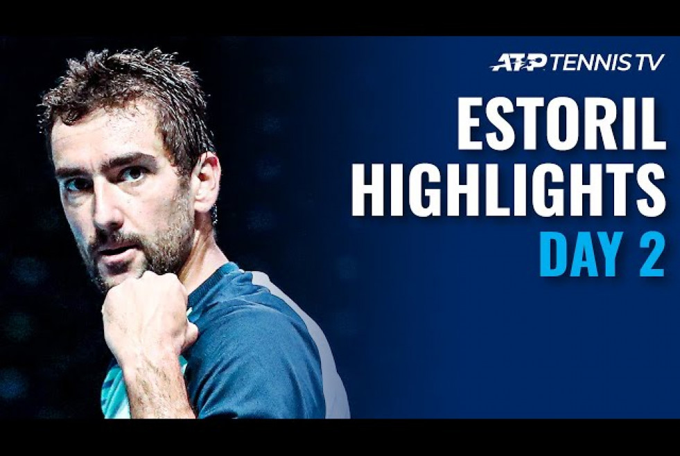 Cilic vs Alcaraz; Gasquet, Ramos-Vinolas Open Campaigns | Estoril Open 2021 Highlights Day 2