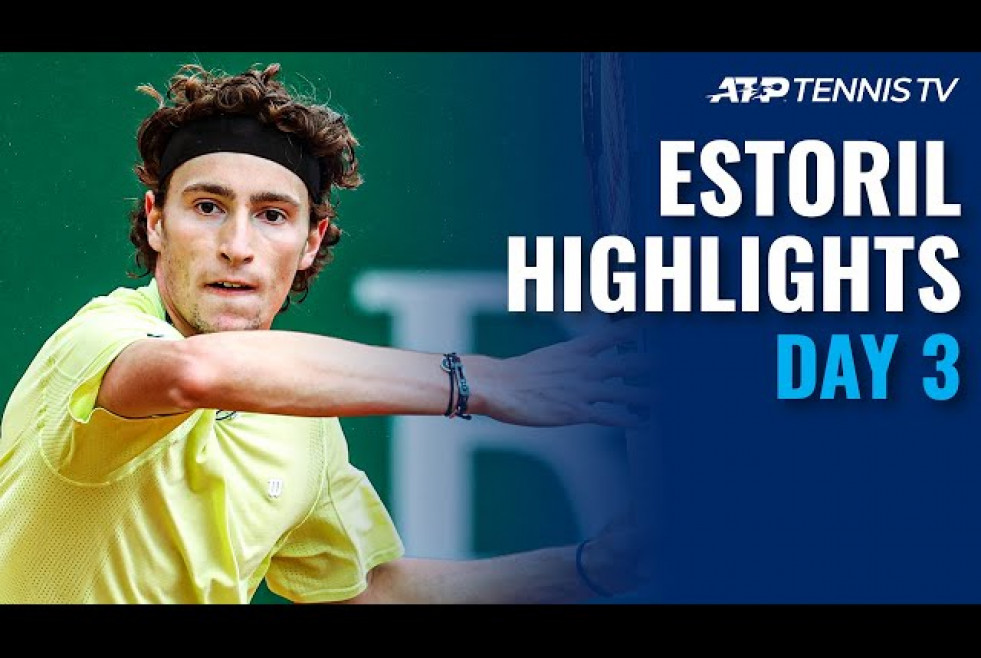 Humbert, Cilic, Anderson Look To Progress | Estoril Open 2021 Highlights Day 3