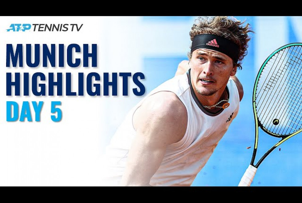 Zverev vs Ivashka; Krajinovic vs Struff | Munich 2021 Day 5 Highlights
