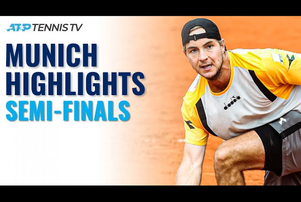 Ruud, Millman, Basilashvili, Struff, Ivashka Look To Reach The Final | Munich 2021 Day 6 Highlights