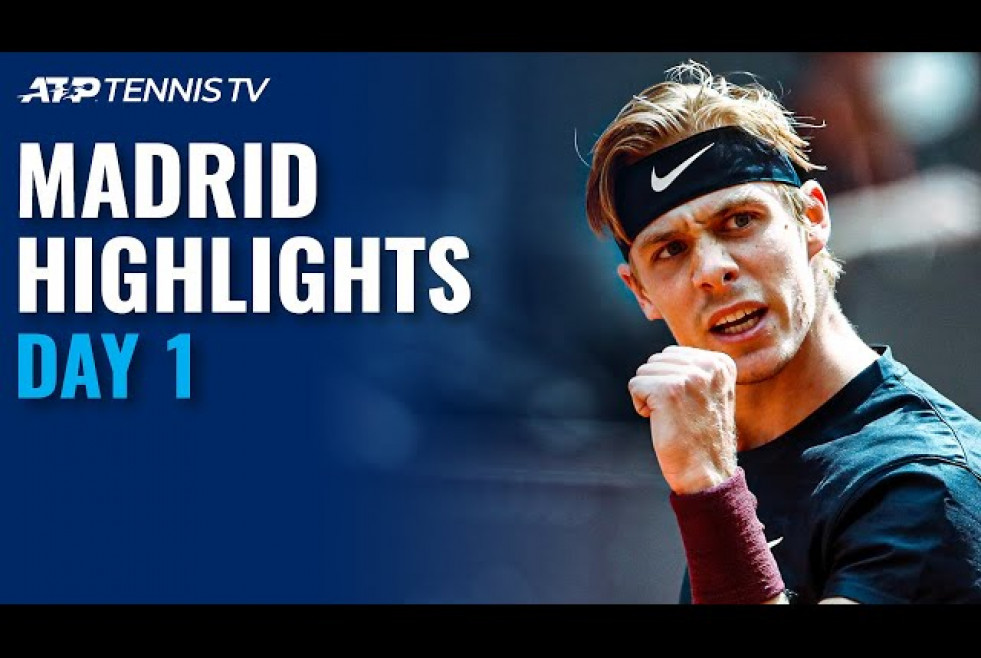 Fucsovics Battles Bublik; Shapovalov, De Minaur Feature | Madrid 2021 Day 1 Highlights