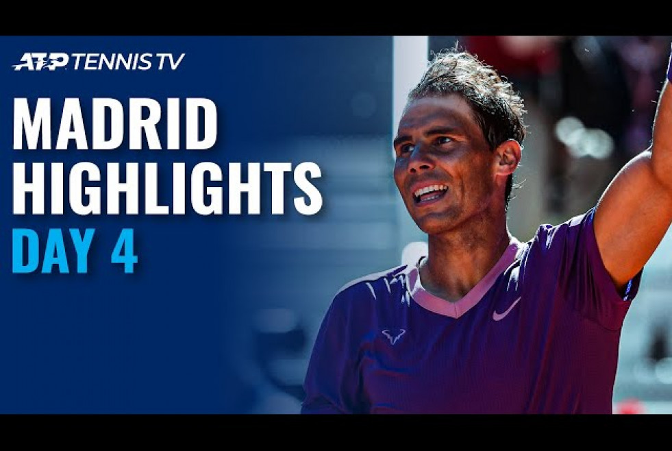Nadal vs Alcaraz; Medvedev, Tsitsipas, Zverev in Action | Madrid 2021 Day 4 Highlights