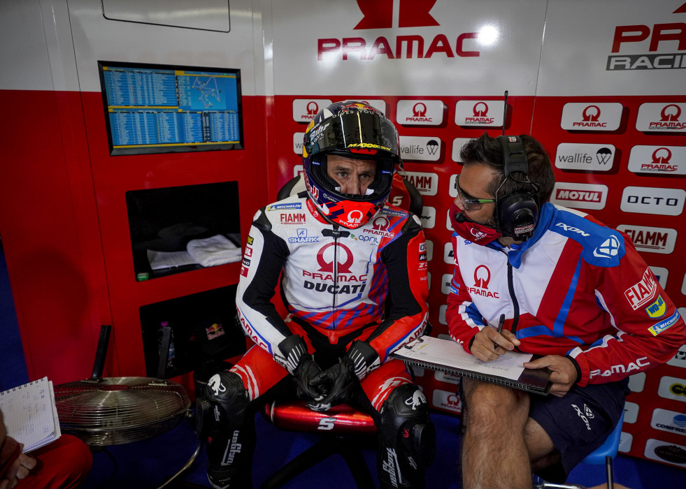 Zarco Johann (fra), Pramac Team, Ducati Desmosedici GP21, portrait during the 2021 MotoGP Gran Premio Red Bull de Espana, Spanish Grand Prix from April 30 to May 2, 2021 on the Circuito de Jerez - Ang